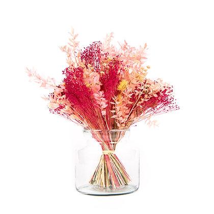 Bouquet de Fleurs séchées - Ruscus XL - Fuchsia Peps