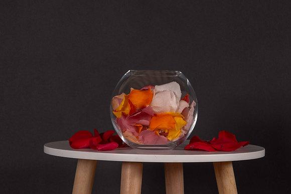 Pétales de Roses Eternelles - Boule L -  Multicolore