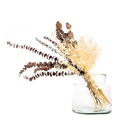 DRIED FLOWERS - DIY BOX EUCALYPTUS 110 - COCOA BROWN