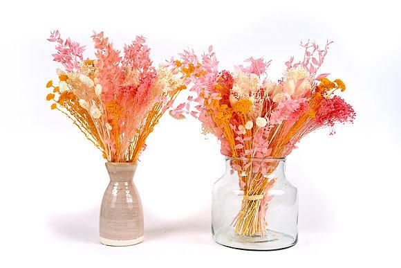 Bouquet de Fleurs séchées - Ruscus Soleil Rose