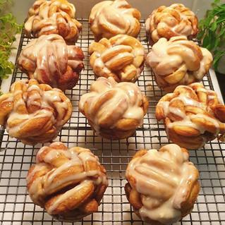 Twisted Cinnamon Scrolls