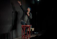 Daniel Stern Reaching Up