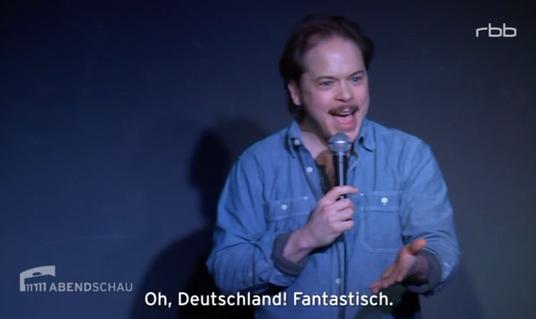 Daniel Stern on German TV