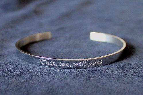 Karen Blixen Silver Bracelet