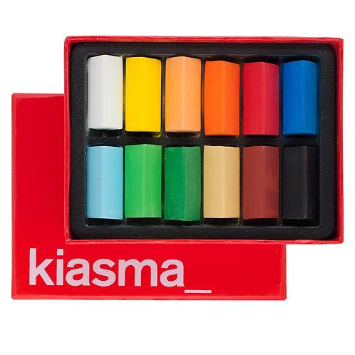 Kiasma Wax Crayon Colour Box