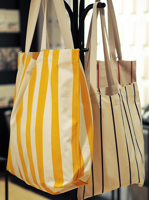 Royal Library Striped Tote Bag