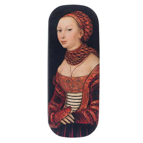 Portrait of a Young Woman Glasses Case