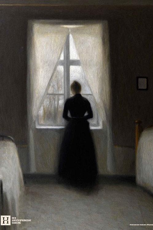 Vilhelm Hammershøi Bedroom Print