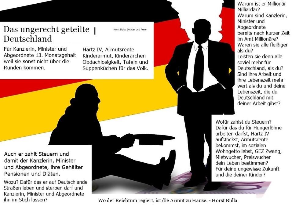 Das ungerecht geteilte Deutschland.