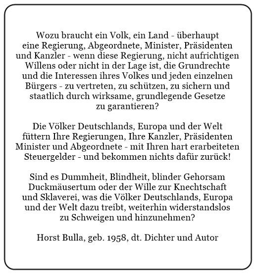 (P)_Wozu_braucht_ein_Volk_ein_Land_überhaupt_eine_Regierung_Abgeordnete_Minister_Präsidenten_und_Kanzler._-_Horst_Bulla