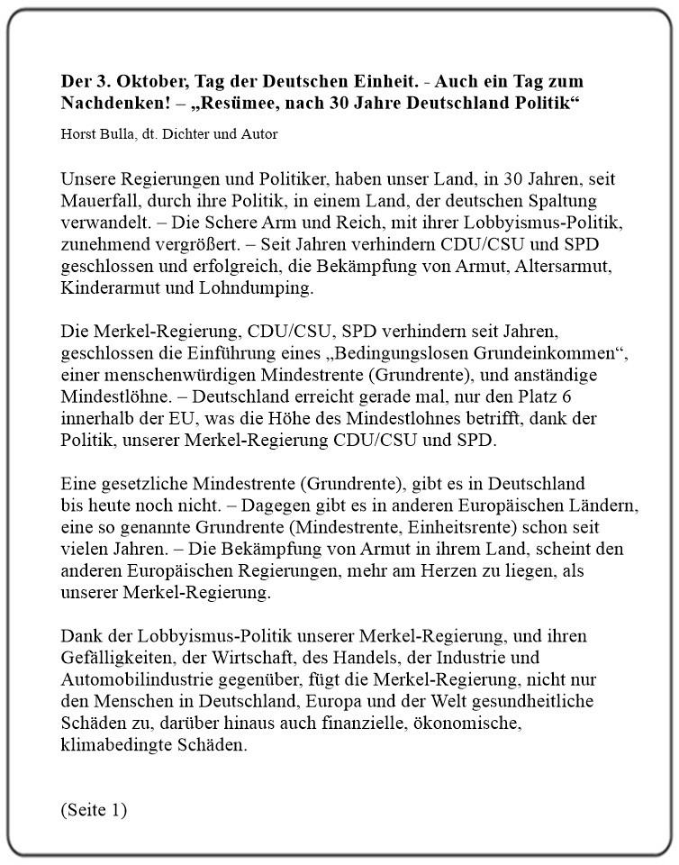 Der_3._Oktober,_Tag_der_Deutschen_Einheit._-_Auch_ein_Tag_zum_Nachdenken!_-_Resümee,_nach_30_Jahre_Deutschland_Politik_-_Horst_Bulla_(Seite_1)