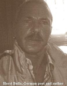 Horst Bulla, deutscher Dichter und Autor