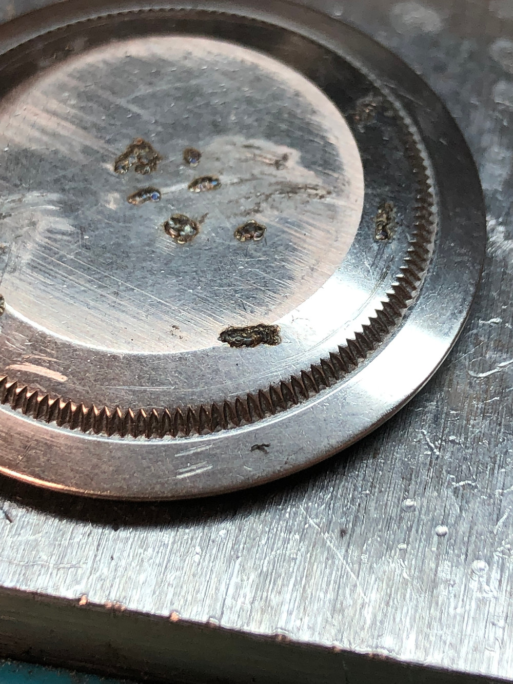 Rolex Case Back Repair Rolliworks Swiss Lapping