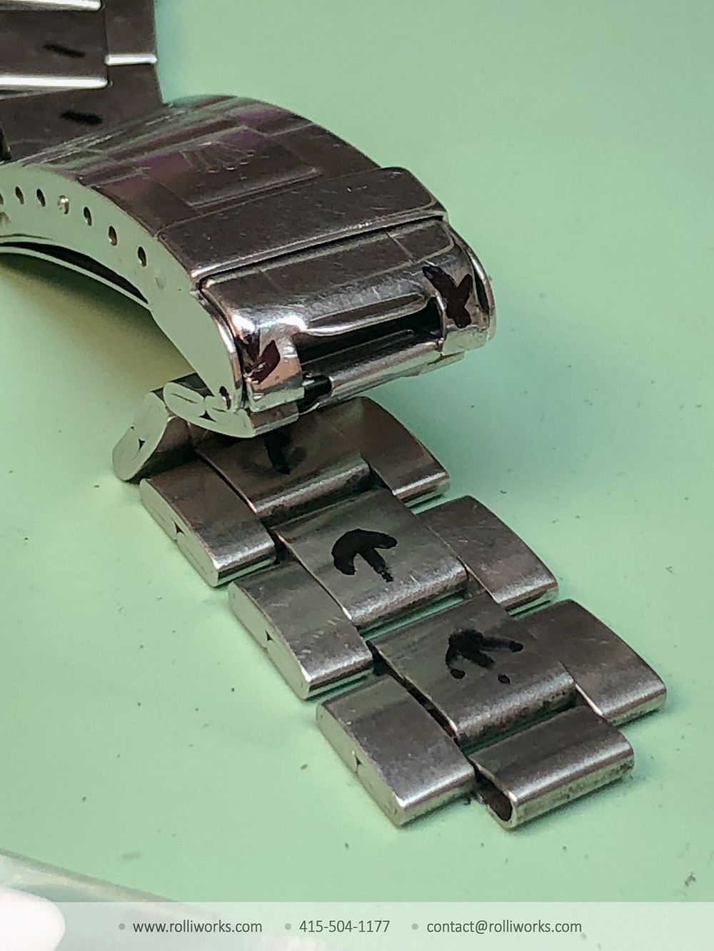 Rolex Band Repair Rolliworks 9315 Oyster