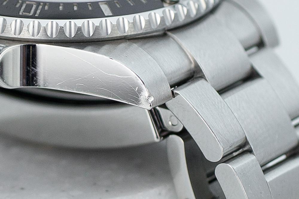Repair of 904L Stainless Steel Rolex Submariner Rolliworks