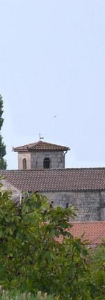 Eglise de St Romain sur Gironde