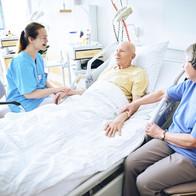 Patientenbetreuung im EK