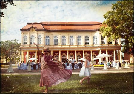 Heiraten im Merseburger Schlossgarten