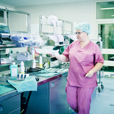 Sterilisation im Martha Maria