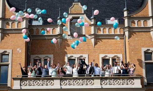 Hochzeit in der Bernsteinvilla am Goitzschesee