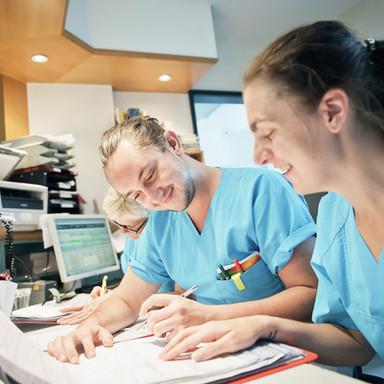 Pfleger im EK