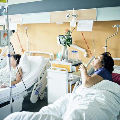 Patienten im EK