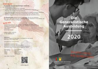 Flyer Generalistische Ausbildung Aussen.