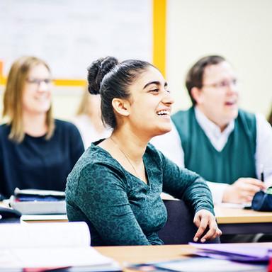 Schüler im Unterricht der CAGP