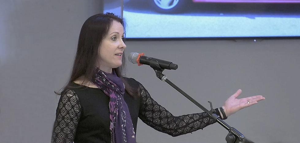 Alice Osborn, professional speaker