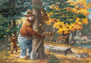 Happy Birthday Smokey the Bear!!