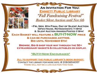 Fall Fundraising Festival