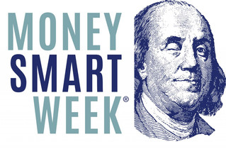 """""""Smart Money Week"""" at the library, April 21-27, 2019.  Two life changing classed being off"""
