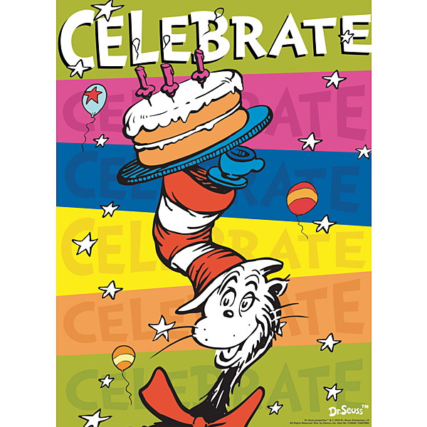 Happy Birthday Dr. Seuss, it's a party March 2nd 1-3pm!!