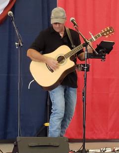 Harley Taylor performing at the Marion County Fair 2019