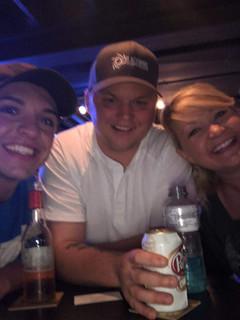 Benny,  Micha, & Andi with Harley Taylor at The Horizon Marysville