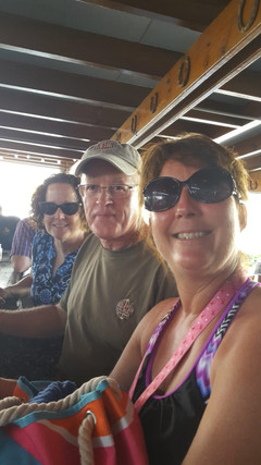 Harley Taylor, Julie Chutes, Mick and Kathy Giere