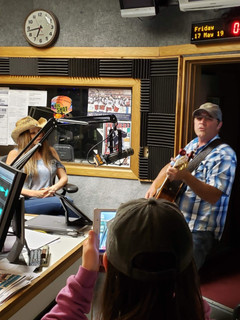 Harley Taylor live interview at WDLR radio show Delaware, Ohio 2019