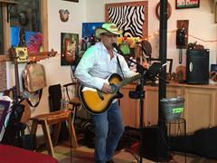 Harley Taylor performs at Bokes Creek Winery