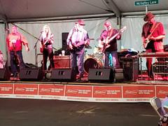 Mcguffey Lane & Harley Taylor both perform at the Delaware, Ohio Fair 2018