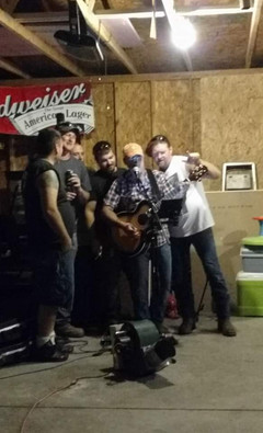 Harley Taylor performs at private Birthday party for Joe and friends