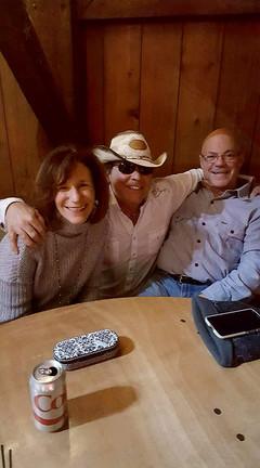 Betsy, Harley Taylor & Joe at the Loft 2018