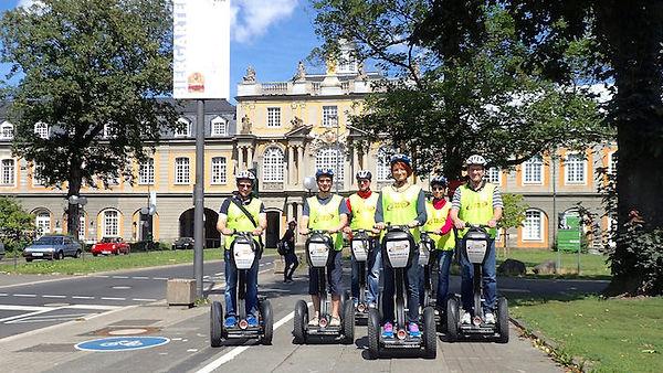 BONNonWHEELS Segway Tour Bonn Kuturstadt Bonn