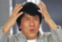 Photo of Confused Jackie Chan
