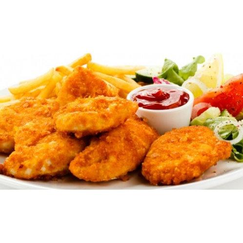 Chicken Nuggets& Chips