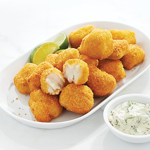 Crispy Cod Bites - 5 pieces