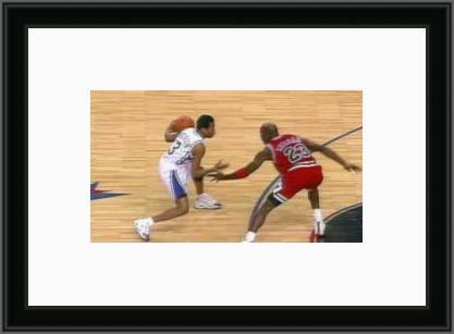 Allen Iverson + Michael Jordan