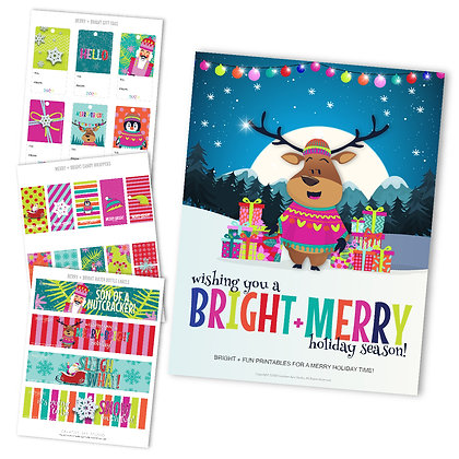 Bright + Merry Customer Prize Pack