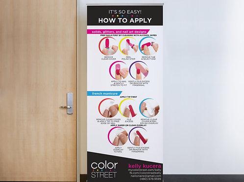 Application - Retractable Banner