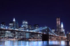 Brooklyn Bridge and Manhattan Skyline At
