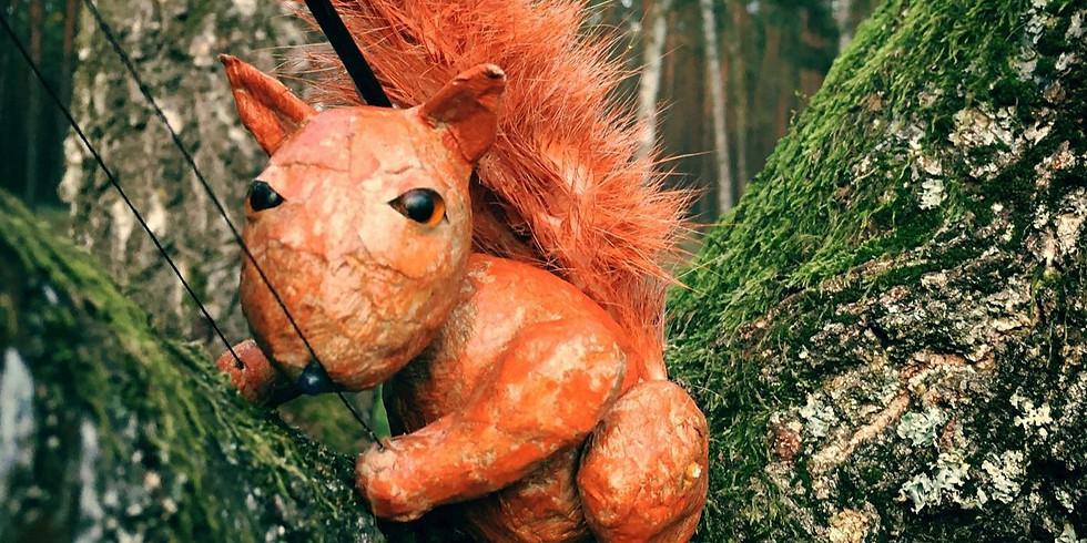 Das großherzige Eichhörnchen